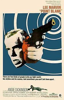 "Cartel de ""A Quemarropa"" (""Point Blank"", 1967)"