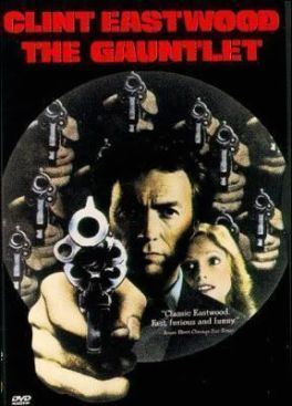 "Cartel de ""Ruta Suicida"" (""The Gauntlet"", 1977)"