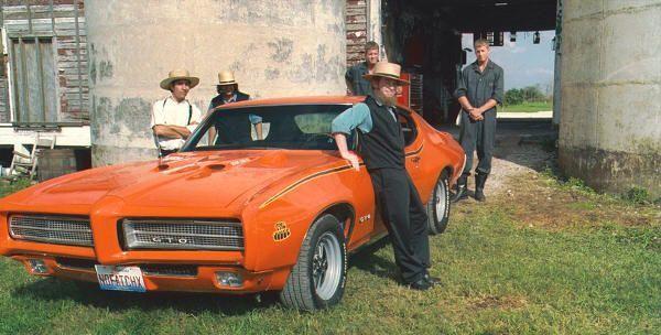 """Los amish y el Pontiac GTO del '69 en """"Sex Drive"""" (2008)"""