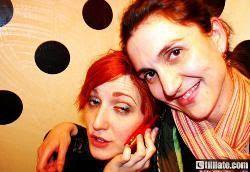 ¿Quién es la chica que está con Pilar en el Berlanga (Valladolid, 2008)?