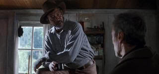 "Morgan Freeman en ""Sin Perdón"" (""Unforgiven"", 1992)"