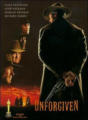 "Cartel de ""Sin Perdón"" (""Unforgiven"", 1992)"