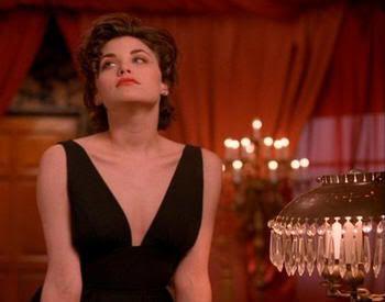 La sensual Audrey. Twin Peaks