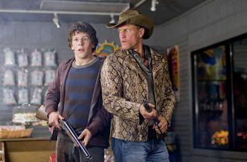 """La chupa de serpiente de Woody Harrelson en """"Bienvenidos a Zombieland"""""""