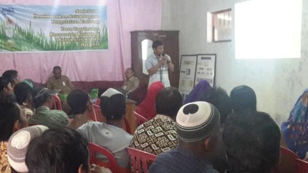 Sosialisasi Kelembagaan Embung, Yayasan Javlec Indonesia, Mas Fachrudin Rijadi
