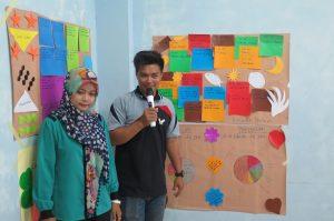 Peserta aktif untuk presentasi dan mengemukakan pendapat