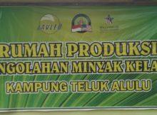 Rumah Produksi Minyak Kelapa