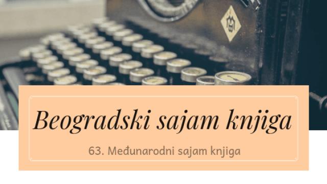 Beogradski sajam knjiga - 63. Međunarodni beogradski sajam knjiga