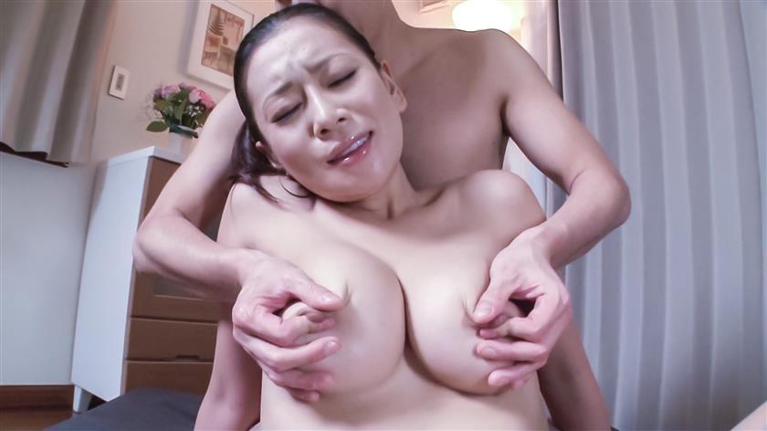 JAVHD, HeyMILF, AVTits, HairyAV - Busty milf enjoys Japan cum over her hairy pussy