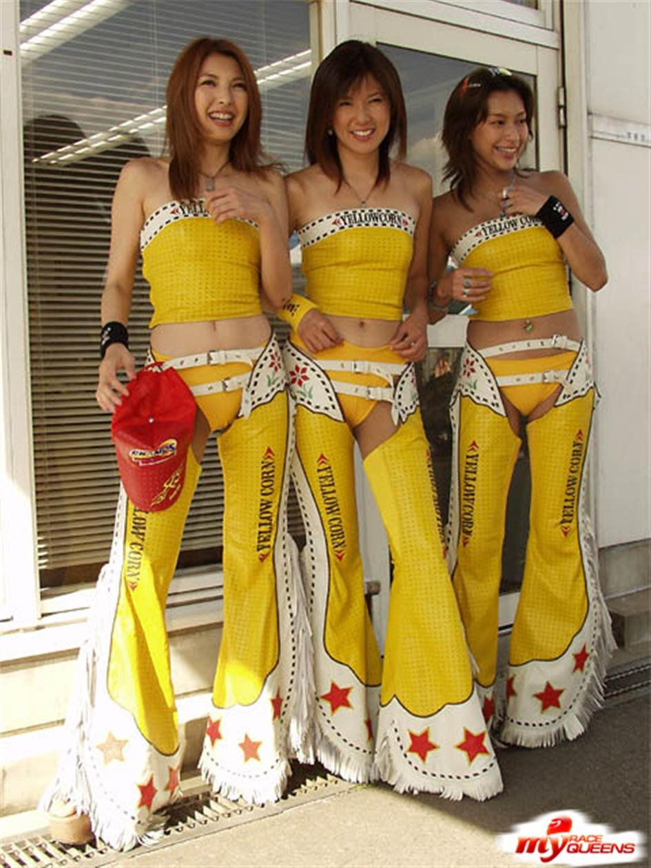 All Japanese Pass - Classic Race Queens costumes 3