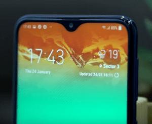 شاشة هاتف samsung M10