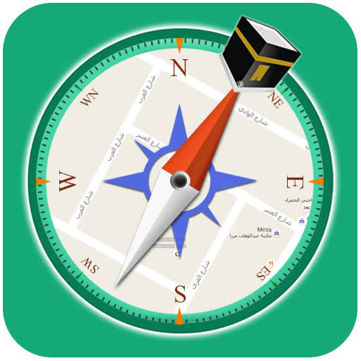 تطبيق qibla compass – prayer times. azan & ramadan 2018