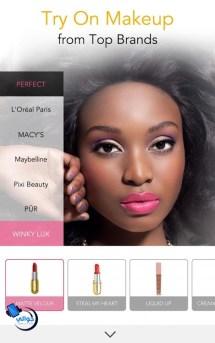 تحميل برنامج المكياج YouCam Makeup