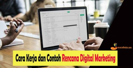 cara kerja dan contoh digital marketing plan