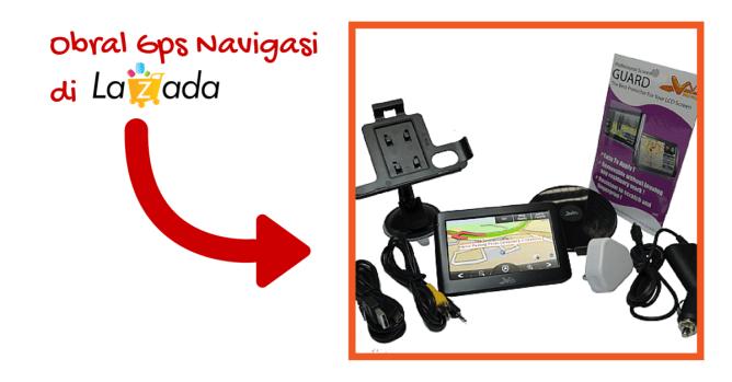 Obral Gps Navigasi di Lazada