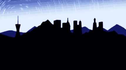 Nosson's skyline.