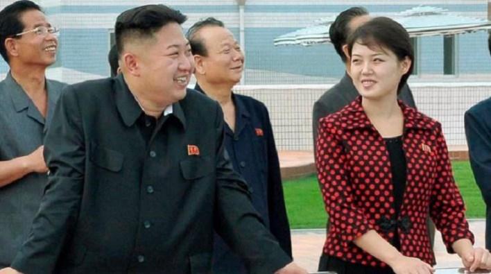 كيم جونغ أون وزوجته