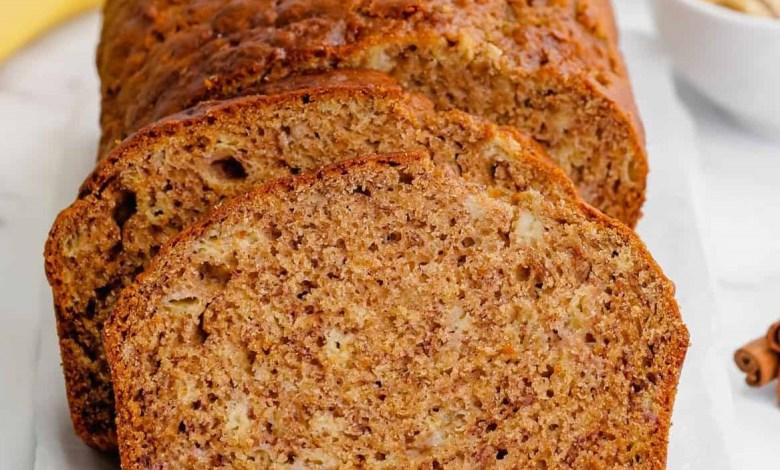 طريقة عمل خبز الموز الأمريكي الشهير