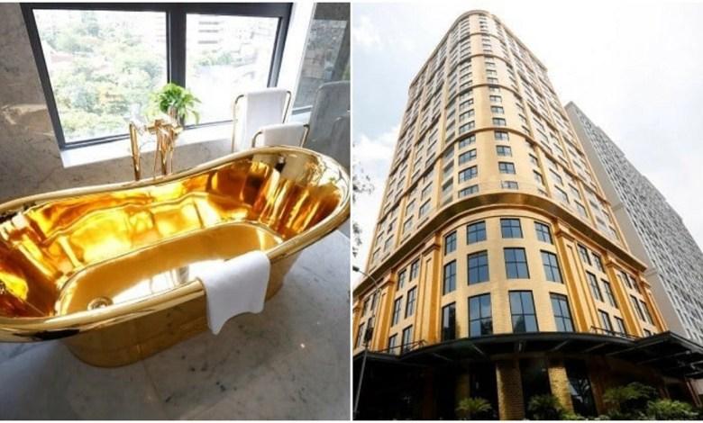 افتتاح أول فندق مطلي بالذهب في العالم في فيتنام