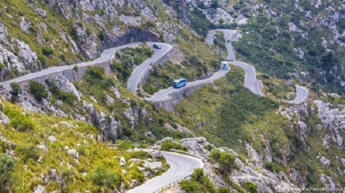 طريق ريفي إسباني