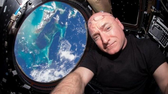 قضى سكوت كيلي إجمالي 520 يوما من عمره في الفضاء