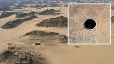 """هل سمعت عن بئر برهوت أو """"قعر جهنم"""" في اليمن حفرة بعمق 250 مترًا!"""