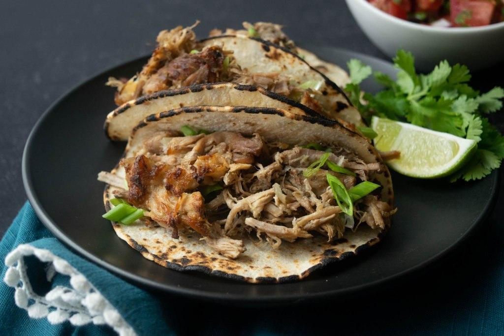 crockpot pork taco