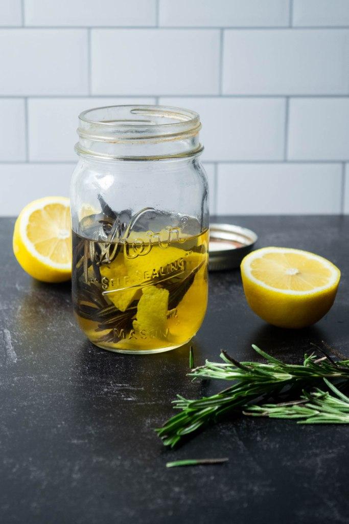 Rosemary Lemon Infused Gin