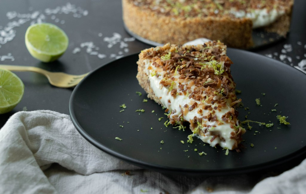 lime in the coconut no bake cheesecake