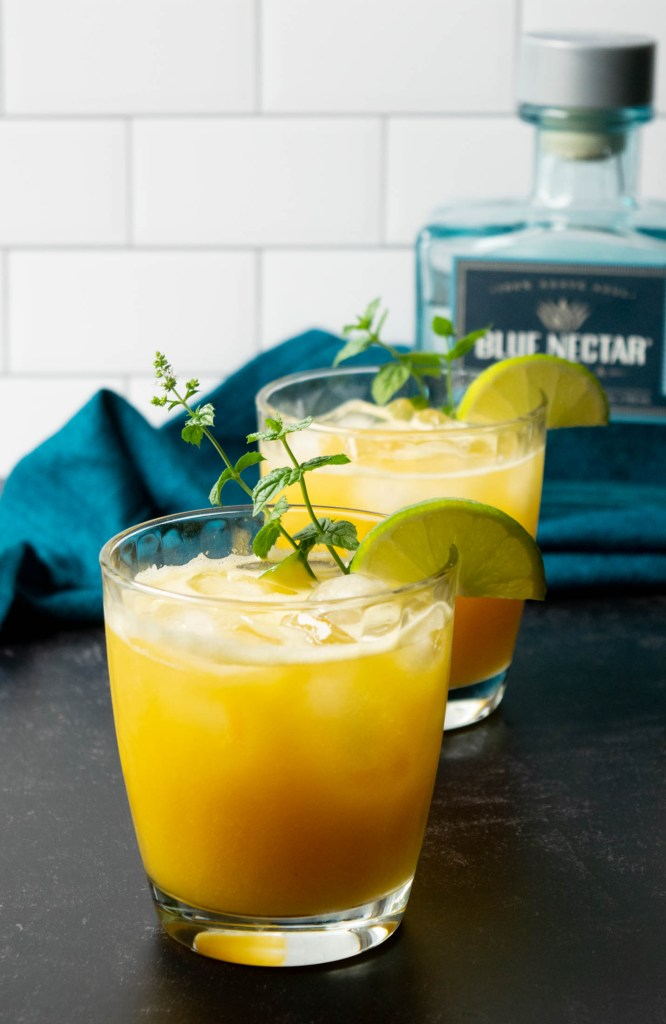 blue nectar tequila margarita