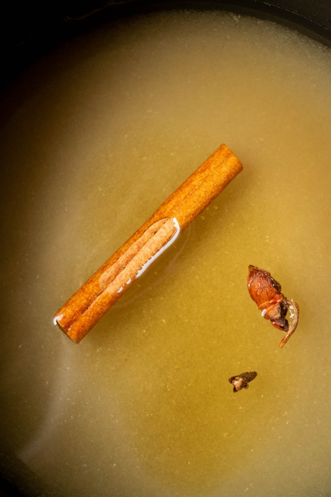 spiced simple syrup ingredients