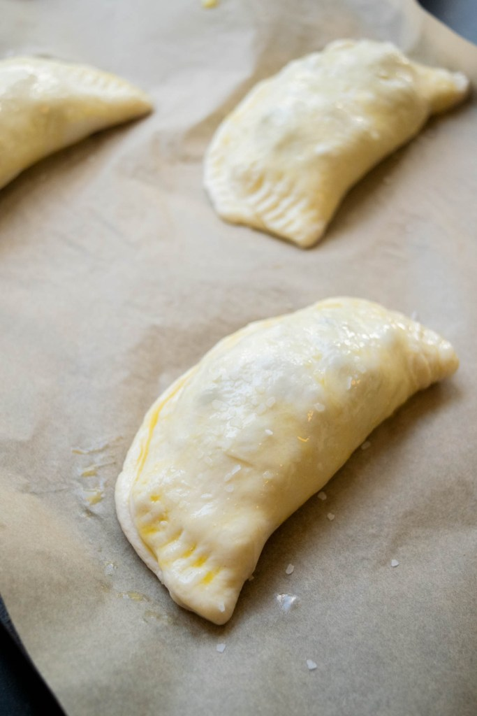 folding and crimping the breakfast pockets