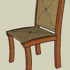 Chair Design Sketchup Accent With Wooden Arms Using Google S Woodworking Custom Furniture And Here Is A That We Designed To Be Included In Our Own Line I Have Added It Show Some Of The Different Material Details Can