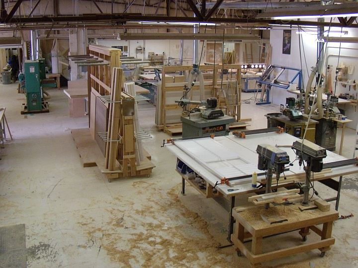 Evolution of a Shop | Custom Furniture and Cabinetry in ...