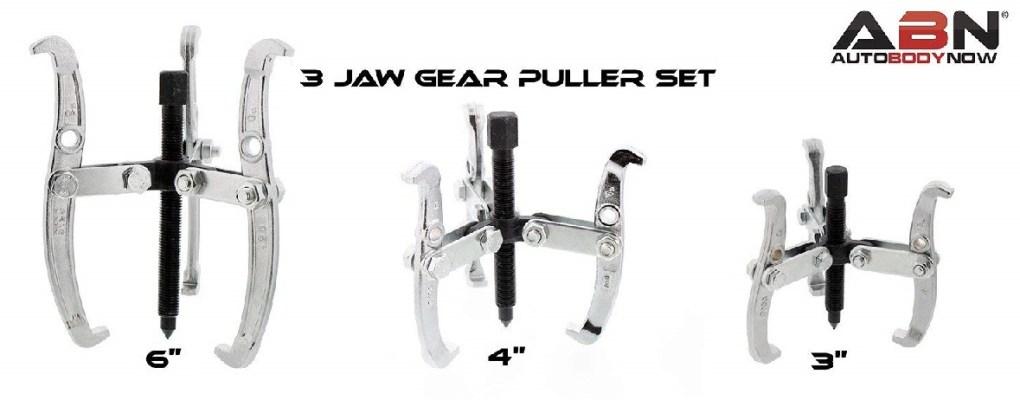 ABN 3-Jaw Gear Puller Set