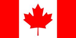 Canada flag. Universities.