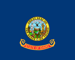 Idaho State flag/ Universities and colleges jobs.