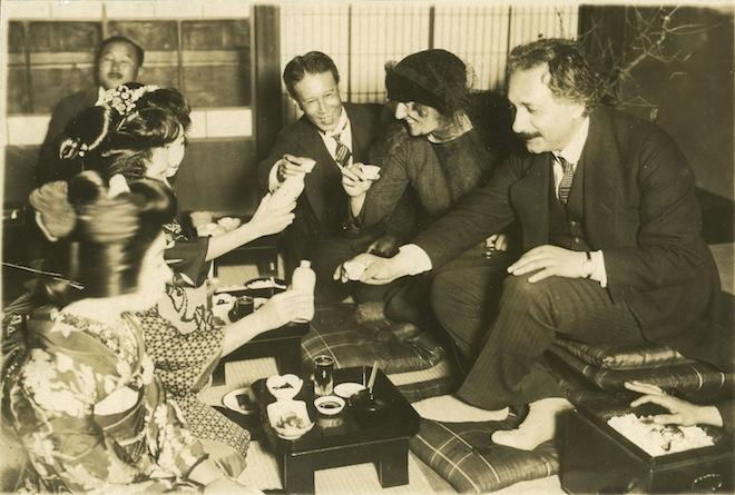 Einstein and Elsa's Visit to Japan