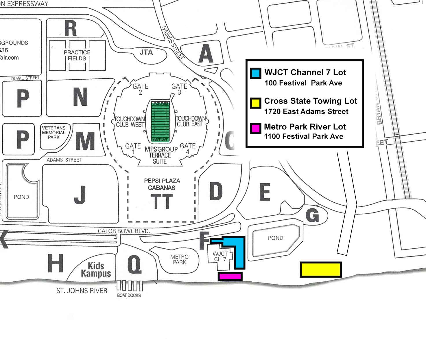 Everbank Field Seating Chart Georgia Florida Game