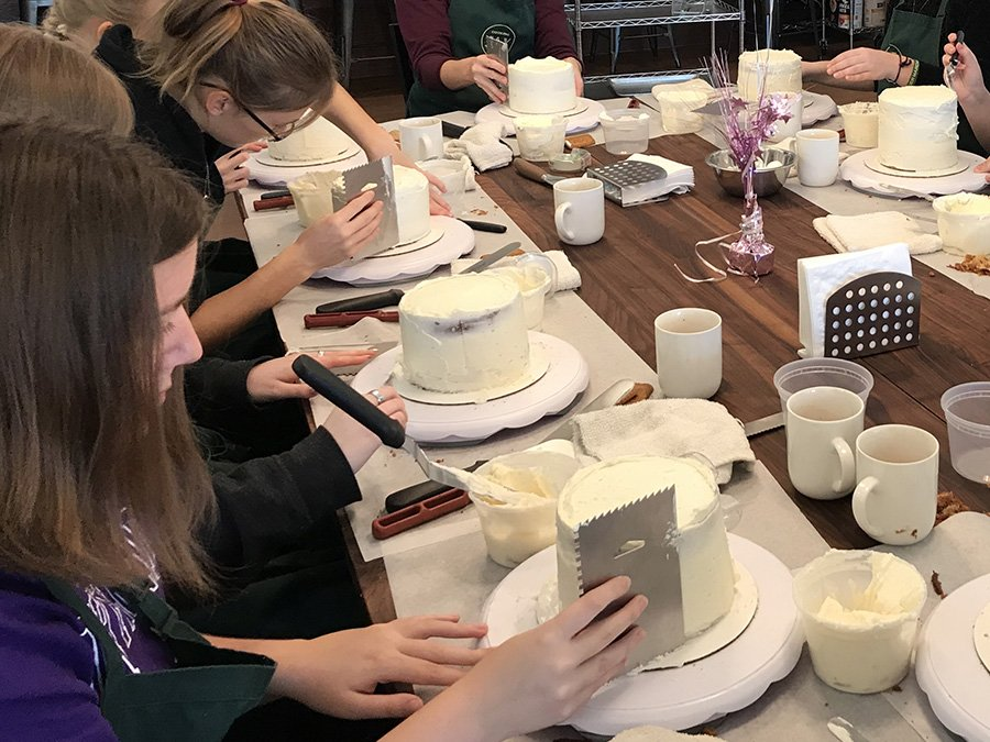 Cake Decorating Class For Kids Archives Jax Cooking Studio