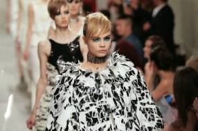 Karl Lagerfeld Unveils His Cruise 2013/14 Collection For Chanel
