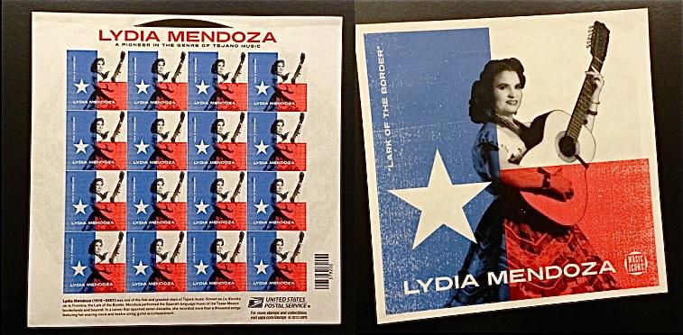 Lydia Mendoza stamps