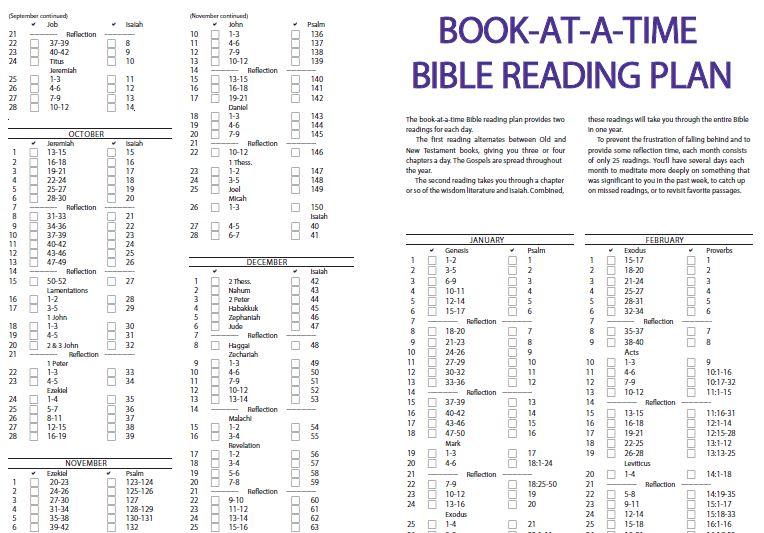 One-Year Chronological Bible (NIV) Reading Plan - Logos ...
