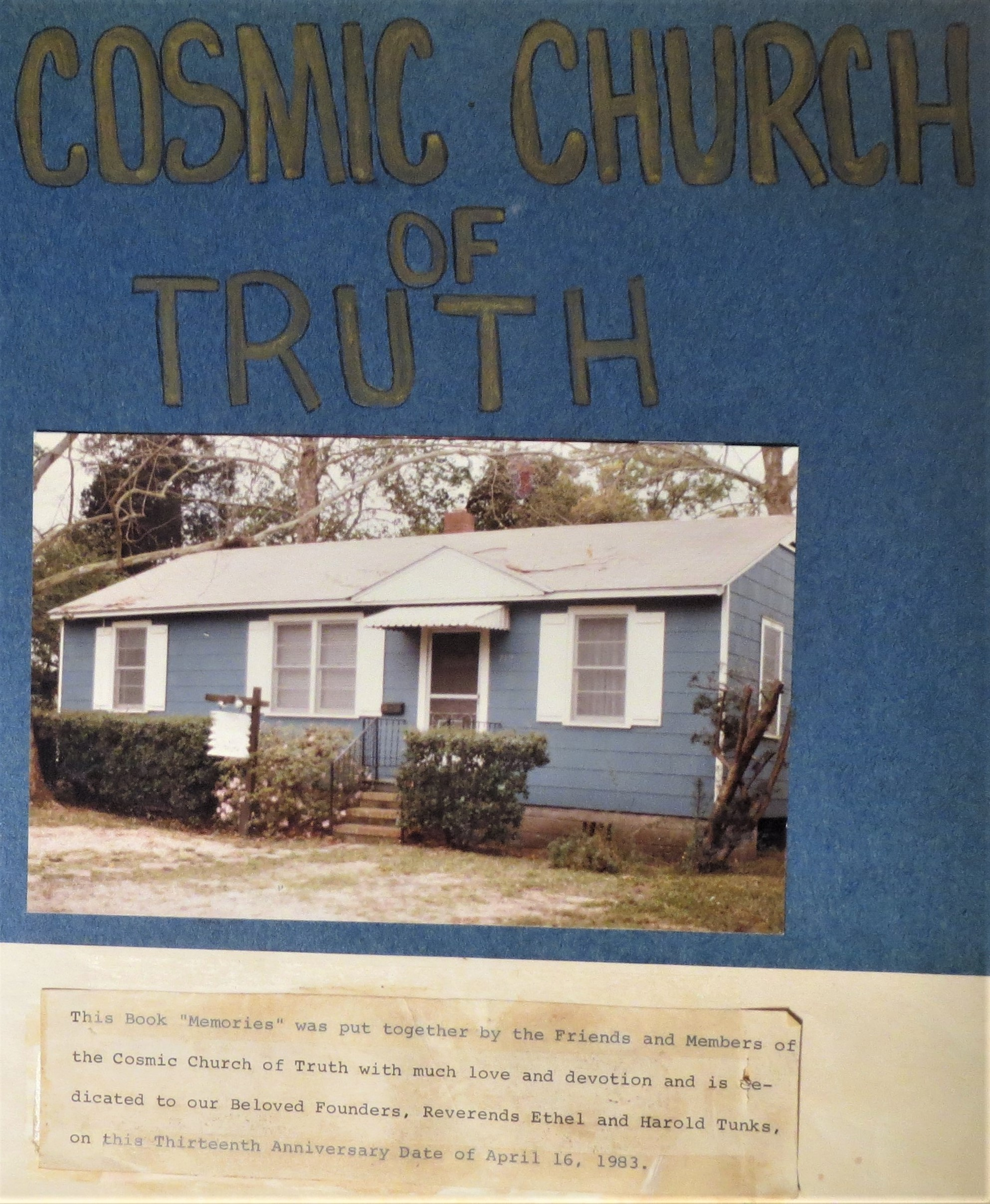 Cosmic Church of Truth | jaxpsychogeo