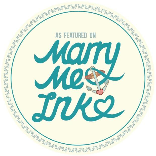 Featured on Marry me ink
