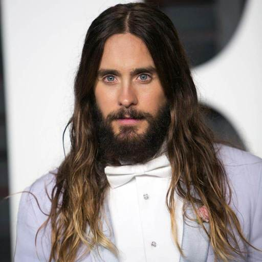 long hairstyle for men Middle Part