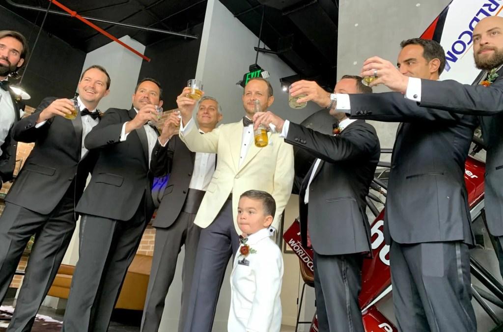 Jaxson Maximus Groomsmen party