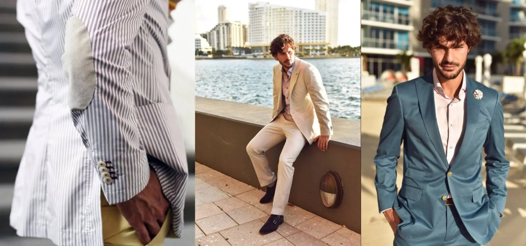 summer suits cloth Cottons and Seersucker