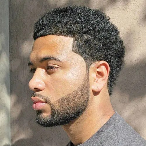 HAIRCUTS FOR MEN WITH CURLY HAIR short afro