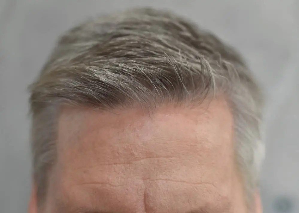 mens before color hair color picture